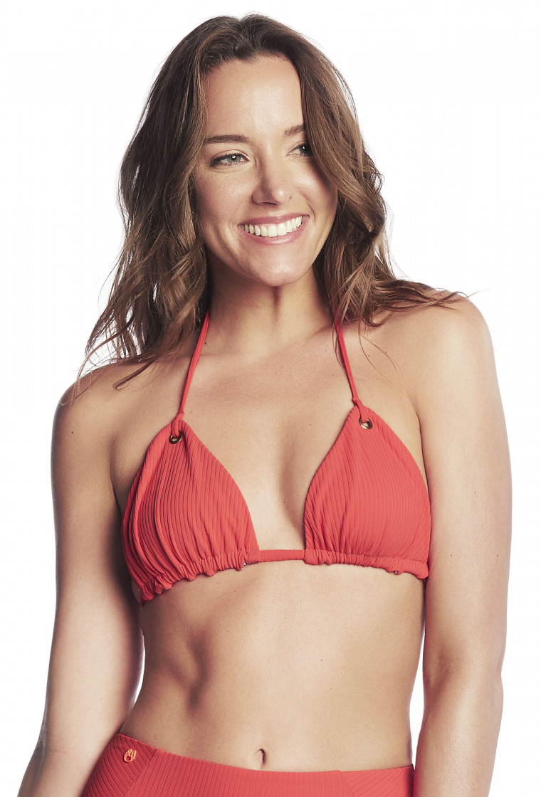MAAJI, Triangle bikini top, Red - Cayenne Lil Grom
