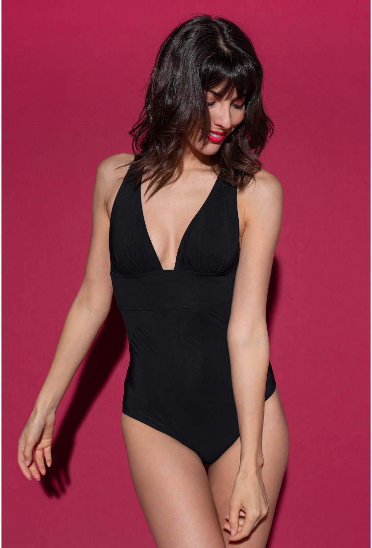PAIN DE SUCRE, Black Swimsuit - Capri
