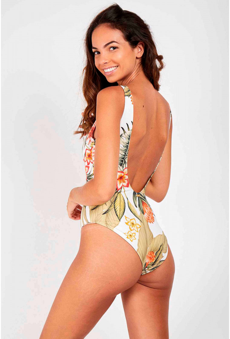 One piece swimsuit, BANANA MOON, Tropical - Miller Lahaina
